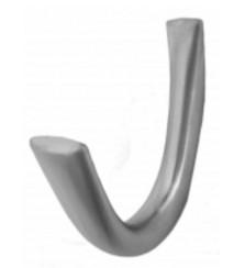 Крючок К2 2-хрожковый, матовый хром