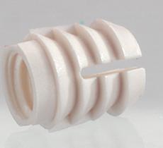 Муфта распорная М6х12 мм, диаметр отверстия 10 мм, пластмасса, Hettich