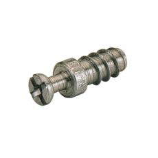 Дюбель ввинчиваемый DU 321, d5мм L11,5, зажимной размер 6,7 мм, оцинкованный, Hettich