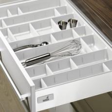 Лоток для столовых приборов OrgaTray 560 Professional для InnoTech, модуль 350, 462х265мм, белый, Hettich