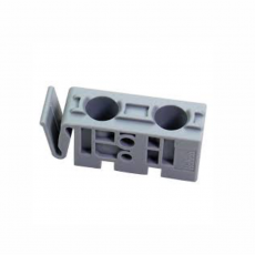 Концевой упор для направляющих элементов STB 11, пластмасса, серый, Hettich