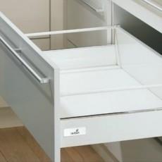 InnoTech, ящик 144х470 мм, белый, частич. выдв-е, плавн. закр. (нагр. 25 кг), Hettich