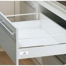 InnoTech, ящик 176х470 мм, белый, частич. выдв-е, плавн. закр. (нагр. 25 кг), Hettich
