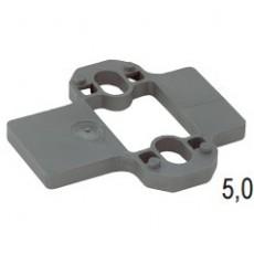 Параллельная дистанционная планка Intermat/Ecomat, дистанция 5 мм, Hettich