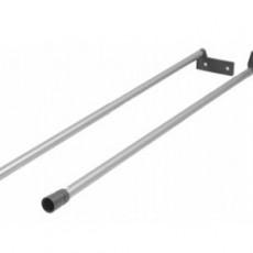 Комплект релинга для короба Multitech, длина 500 мм, серый, Hettich