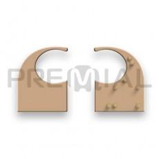Заглушка торцевая для профиля «С», Premial